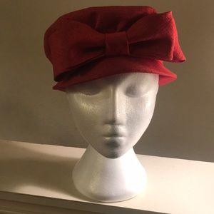 Vintage 50s brentshire pink hat